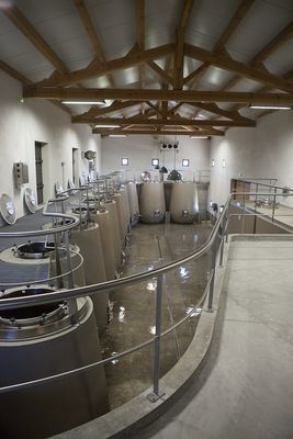 Cave de vinification La Barroche